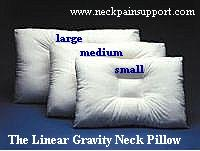 Lineargravityneckpillow