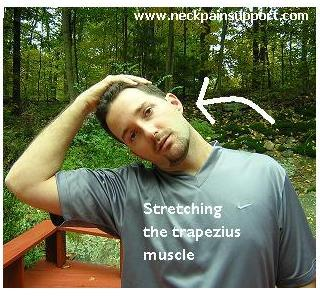 Stretching the Trapezius Muscle