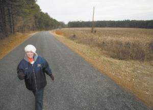 Ellen Phillips Walks to Beat Chronic Arthritis in her neck