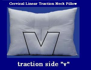 Traction neck pillow arc4life