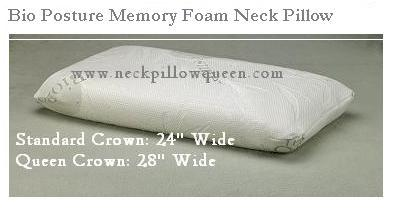 Bioposture crown pillow NPQ