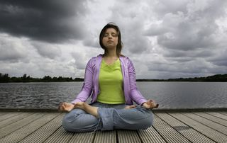 Meditation and pain medication