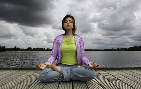Meditation and pain medication