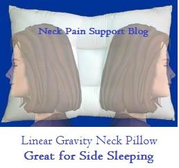 Arc4life Linear Gravity Neck Pillow- Side Sleeping
