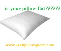 Is your neck pillow flat