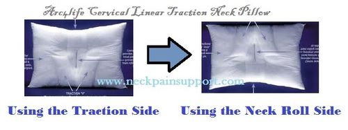 Cltraction pillow Reversed