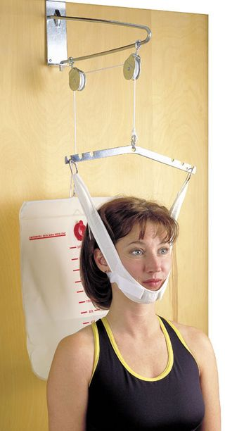 Pain after neck traction