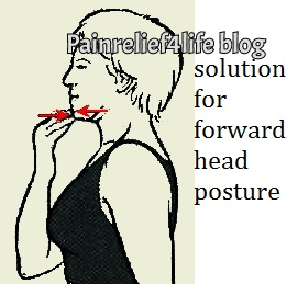 Head retraction for forward head posture
