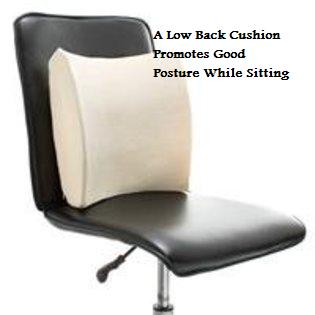 Using a low back support = a healthy back