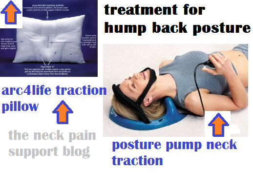 Treatment for hunch back posture