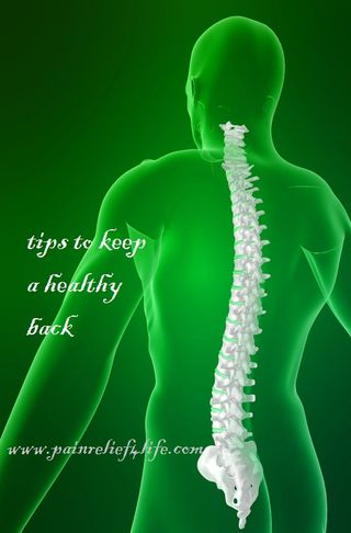 Keep Your Low Back Healthy
