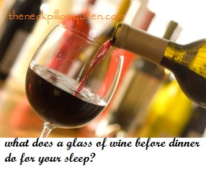 What does a glass of wine do for your sleep