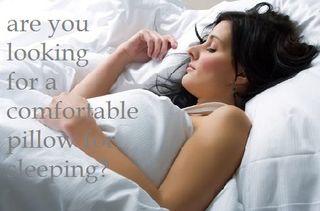 Comfortable pillow for sleep