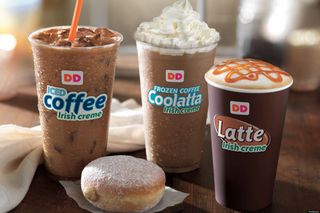 Dunkin donuts coolatta - was this your breakfast this morning