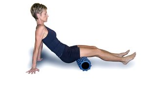 Exercise and Stretch your Hamstrings with the Rumble Roller