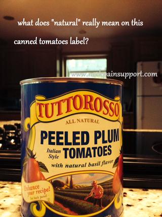 Natural ingredients blog post