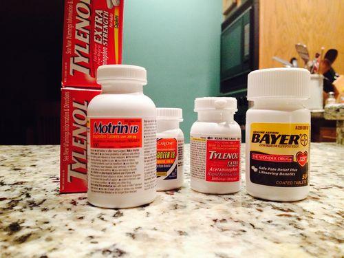 Otc medications at home
