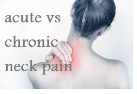 Acute pain vs chronic pain