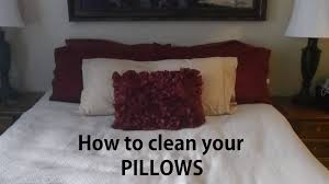 Caring for your pillow