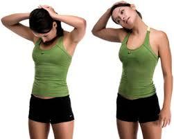 Stretching neck