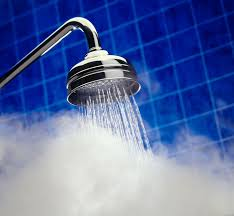 A hot shower