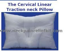 Neckpainreliefkit traction pillow
