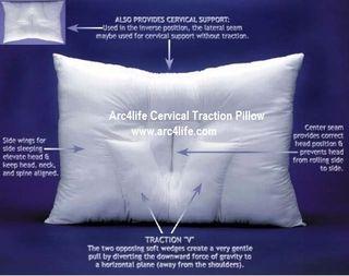Arc4life cervical traction neck pillow
