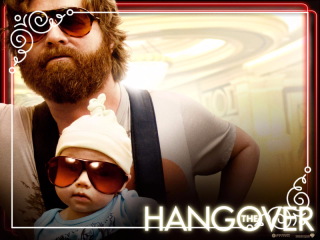 The effects of drinking are evident in the Hangover