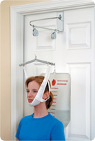 Duromed over the door neck traction