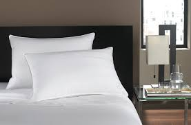 Pillows in hotel