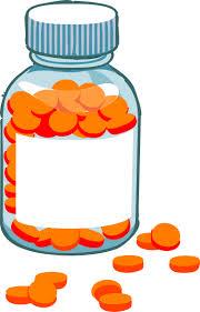 Large pill bottle