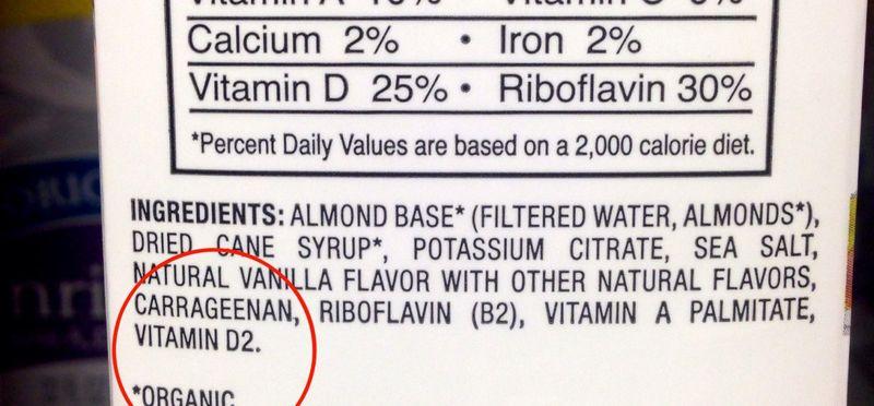 Carrageenan ingredient