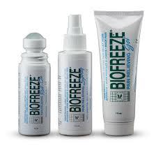 Biofreeze types