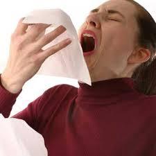 Pain when sneezing
