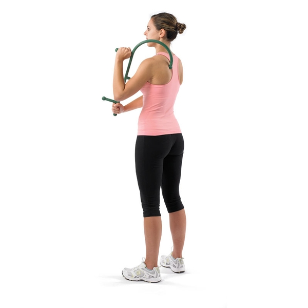 Theracane cane help with muscle massage