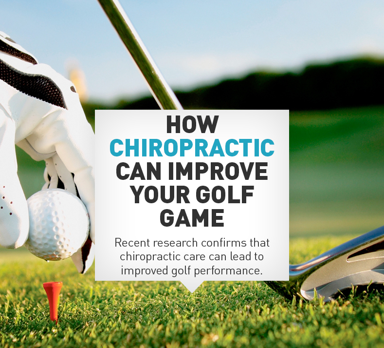 Chiropractic can improve your golf game
