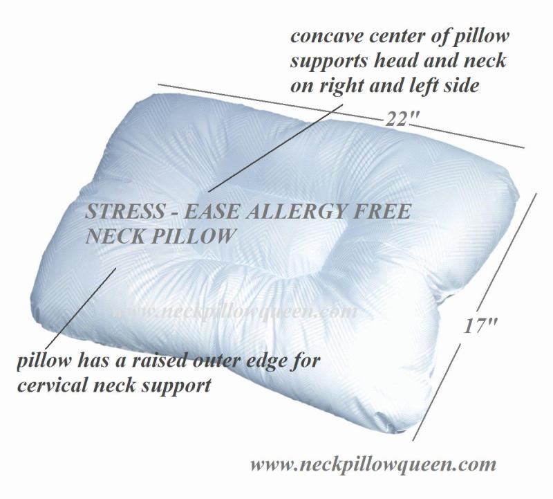 Stress ease neck pillow