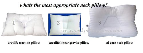 Traction pillow vs linear gravity vs tric ore