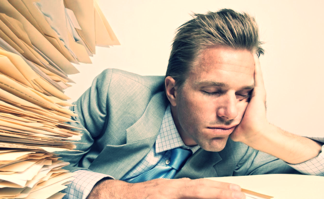 Sleep deprivation is similar to having alcohol the night before.