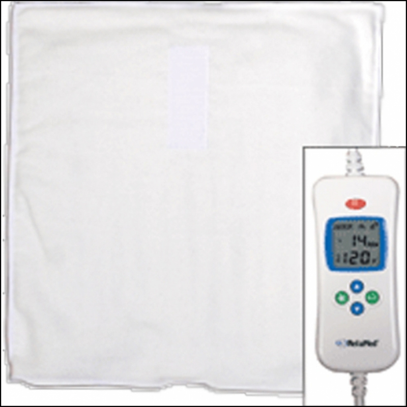 Digital moist heat pad