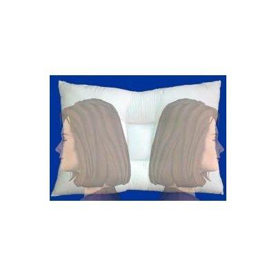 Sleeping on your side with the arc4life linear gravity pillow