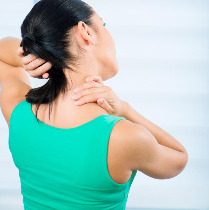 Right sided neck pain