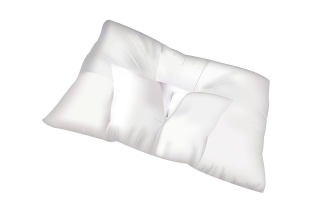 The arc4life traction pillow on its side