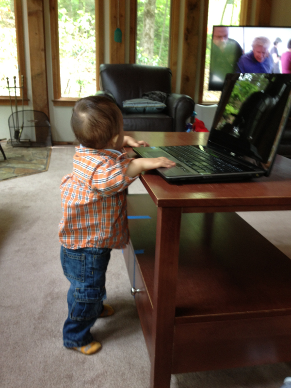 Young Children Will always Gravitate towards the Digital Devices
