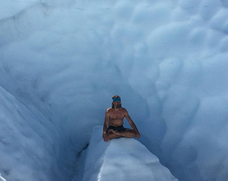 Wim Hof freeze away illness